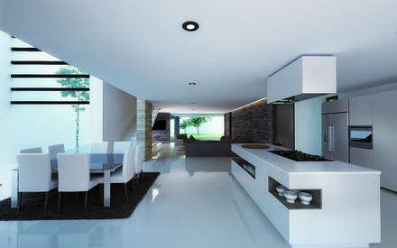 moderne Küche von TARE arquitectos
