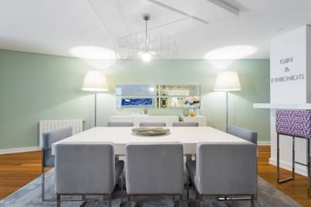 moderne Esszimmer von Interdesign Interiores