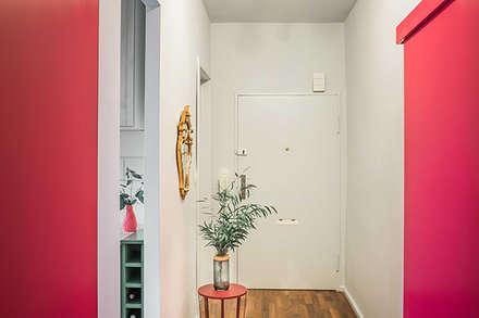 Neugestaltung Küche, Flur und Schafzimmer:  Flur & Diele von Berlin Interior Design