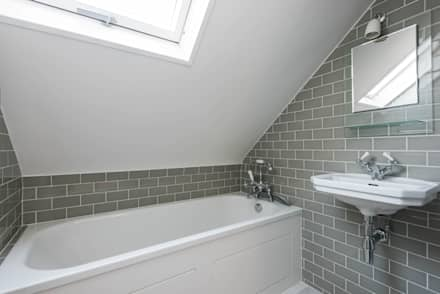 dorlcote road wandsworth modern bathroom by grand design london ltd - Grand Designs Bathrooms