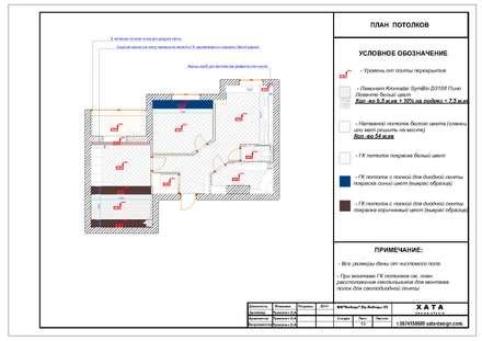 План потолков: Стены в . Автор – ХаТа - design