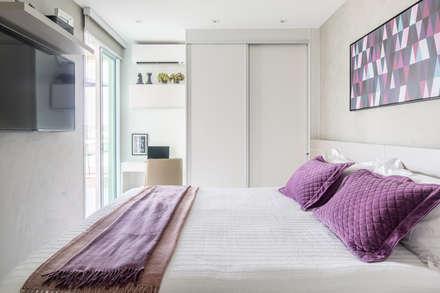 Apartamento FM: Quartos  por Carpaneda & Nasr