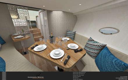 modern Yachts & jets by Levolu Interiores e Arquitetura