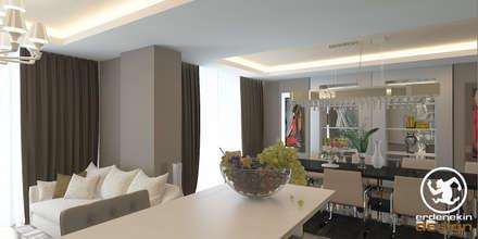 Erden Ekin Design – Yemek Bölümü: modern tarz Yemek Odası