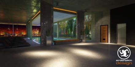 modern Pool by Erden Ekin Design