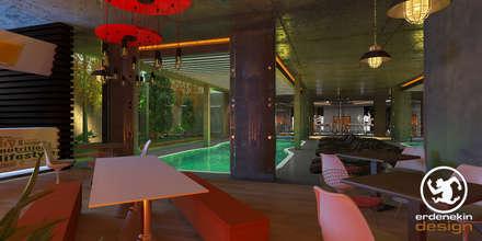 Erden Ekin Design – Havuz Enerji Cafe:  tarz Havuz