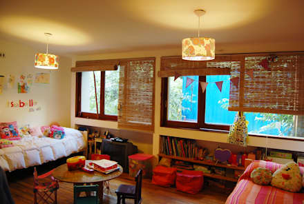 غرفة الاطفال تنفيذ Guadalupe Larrain arquitecta