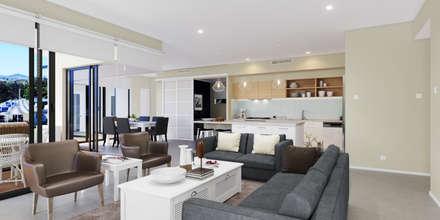 Living room :  غرفة المعيشة تنفيذ Accurate Curves