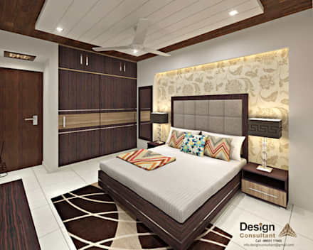 Asian style bedroom design ideas pictures homify for Bed design photos
