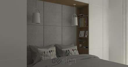 Wola II: styl , w kategorii Sypialnia zaprojektowany przez DW SIGN Pracownia Architektury Wnętrz