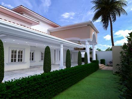ucnoktadesign – VİLLA-AFRİKA: klasik tarz tarz Evler