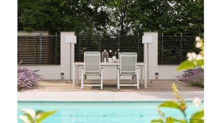 RESIDENTIAL VILLA: landelijk Zwembad door Ilse Damhuis Stijlvol Wonen