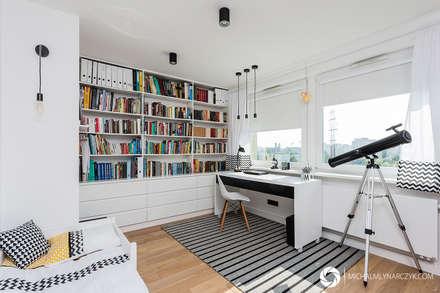 Mieszkanie / Żoliborz: styl , w kategorii Pokój dziecięcy zaprojektowany przez Michał Młynarczyk Fotograf Wnętrz
