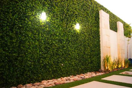 ampliacin residencia bg jardines de estilo moderno por arstudio