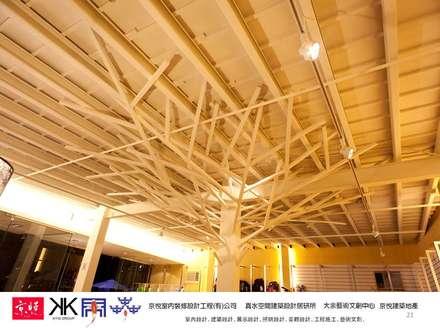 โชว์รูมรถ by 京悅室內裝修設計工程(有)公司|真水空間建築設計居研所
