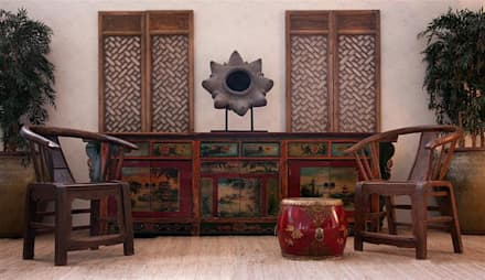 Fotografía de ambiente de la firma Vical Home: Salones de estilo industrial de DECORSIA HOME,S.L.