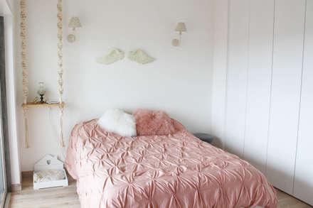 rustikale Schlafzimmer von alma portuguesa