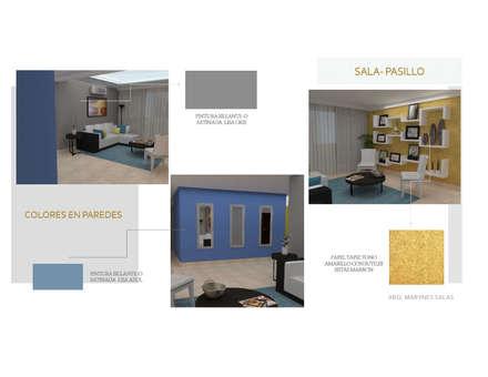 Pasillo: Pasillos y vestíbulos de estilo  por Arq. Marynes Salas