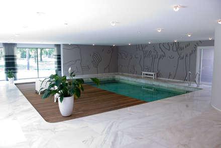 Verbouwing Woonhuis te Veghel: modern Zwembad door Wessel van Geffen Architecten