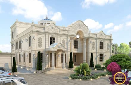 Royal villas design of Katrina Antonovich: classic Houses by Luxury Antonovich Design