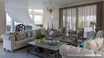 moderne Wohnzimmer von MARIANGEL COGHLAN
