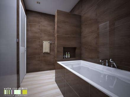 ДЕРЕВО ЖИЗНИ: Ванные комнаты в . Автор – Мастерская интерьера Юлии Шевелевой