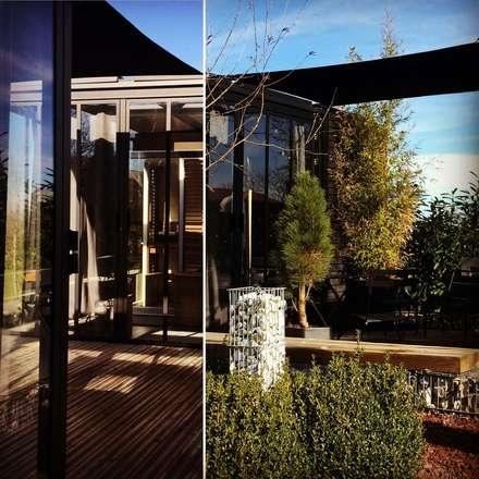 Un CUBE dans mon jardin : Spa de style de style Moderne par Tabary Le Lay