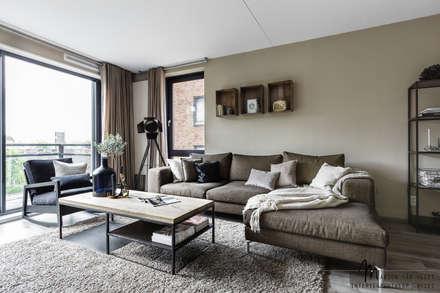 Best Industrieel Woonkamer Photos - Moderne huis - clientstat.us