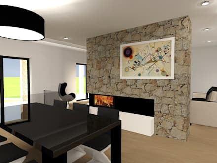 غرفة السفرة تنفيذ Ricardo Freitas Arq.