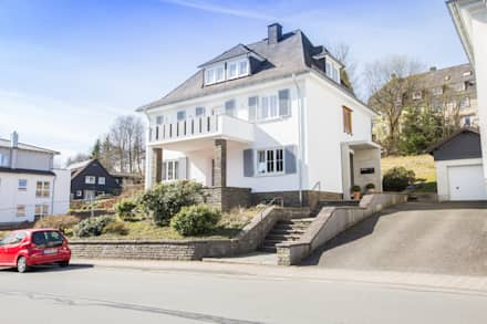 Nach den Umbaumaßnahmen: klassische Häuser von FH-Architektur