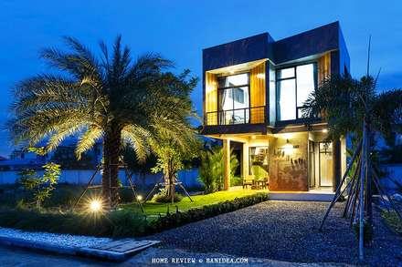 บ้านพักตากอากาศ ชลบุรี:  บ้านและที่อยู่อาศัย by LOFT HOME (THAILAND) Co.,Ltd