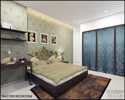 BEDROOM: Minimalistic Bedroom By VISIONARY DESIGN