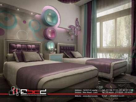 Dormitorios infantiles de estilo clásico por المجموعة المصرية البريطانية للمقاولات والديكور والتصميم الداخلى