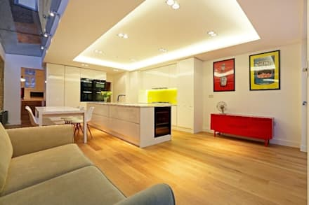 House renovation and extension in Fulham, SW6: modern Dining room by APT Renovation Ltd