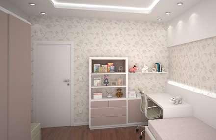 Dormitorios infantiles de estilo moderno por FZ Arquitetura e Interiores