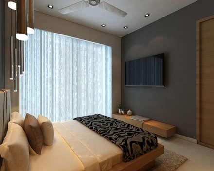 Interior Modern Bedroom By Midas Dezign