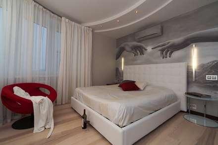 moderne Schlafzimmer von Pegasova design
