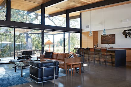 Sacramento Modern Residence By Klopf Architecture Modern Living Room By Klopf Architecture