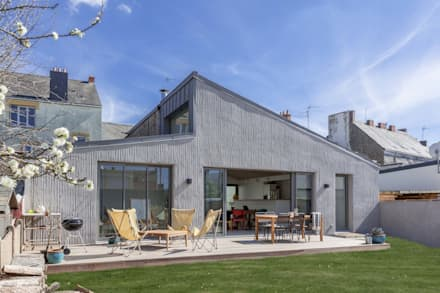 Ventanas de estilo  por bertin bichet architectes