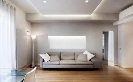 soggiorno moderno: idee & ispirazioni | homify - Soggiorno Particolare Roma