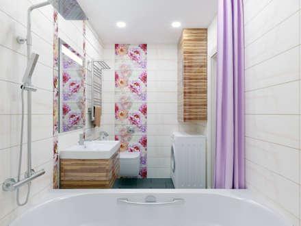 Визуализация ванной комнаты: Ванные комнаты в . Автор – PLYSPACE