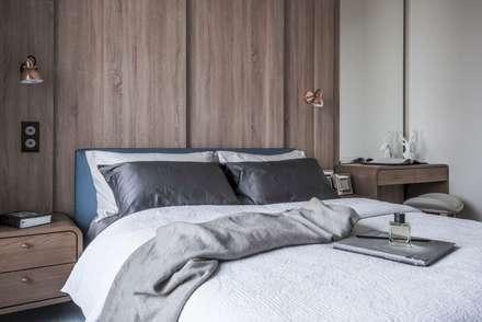 scandinavian Bedroom by 理絲室內設計有限公司 Ris Interior Design Co., Ltd.