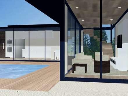 منازل تنفيذ PRISCILLA BORGES ARQUITETURA E INTERIORES