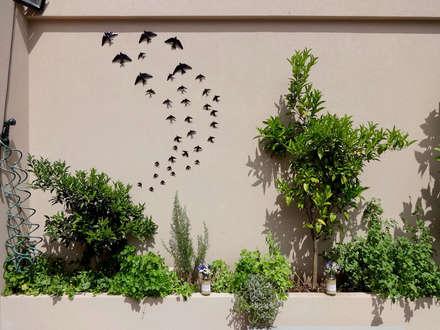 Terraço com aromáticas e citrinos: Terraços  por STILL urban design