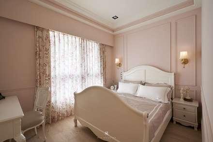 Phòng ngủ by 理絲室內設計有限公司 Ris Interior Design Co., Ltd.