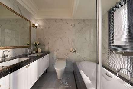 托斯卡尼.Giorno|Tuscan Giorno:  浴室 by 理絲室內設計有限公司 Ris Interior Design Co., Ltd.