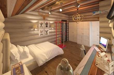 Chambre d'enfant de style de style Rustique par atmosvera