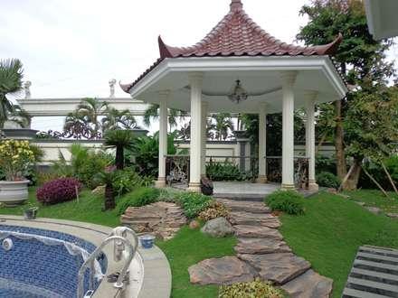 Taman Minimalis:  Taman by CV. ADI KARYA MANDIRI