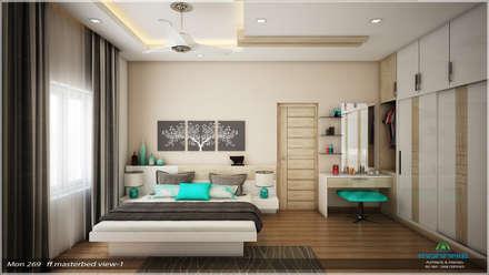 Traditional Treat: classic Bedroom by Premdas Krishna