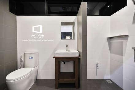 MODERN LOFT 2-STOREY HOMES:  ห้องน้ำ by BEYOND HOME (THAILAND) Co.,Ltd